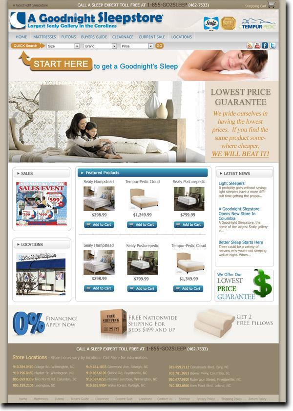ecommerce websites large