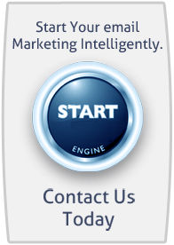 start button emailmarketing pressed